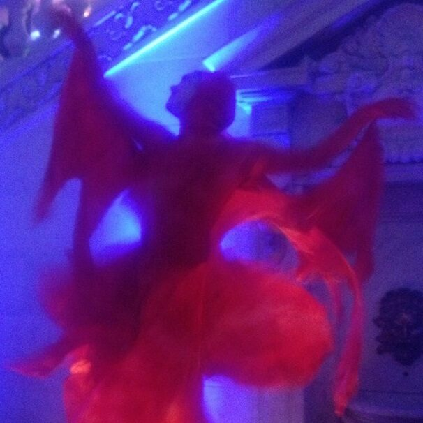 Red Lighted Box Dancer